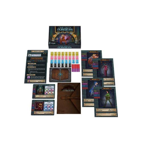 One Deck Dungeon partie