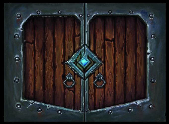 One Deck Dungeon porte