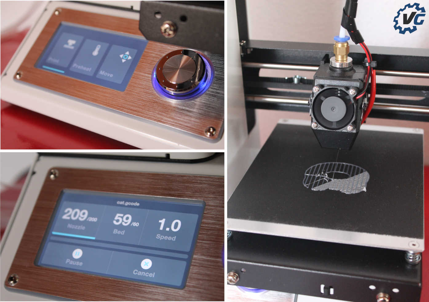 monoprice select mini impression