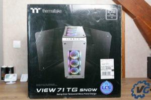 Test boîtier Thermaltake View 71 TG Snow Edition