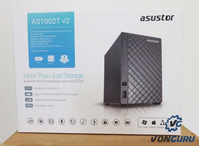 Asustor AS1002T v2