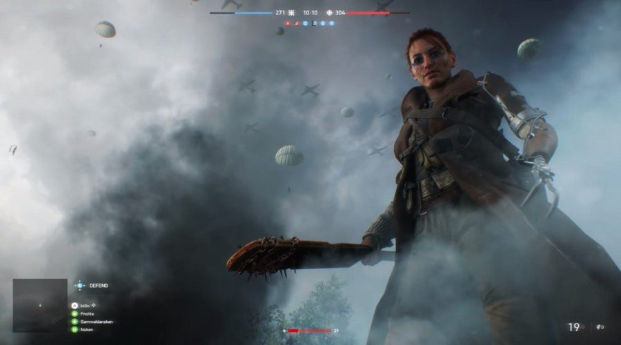 battlefield v contenu guerre in game