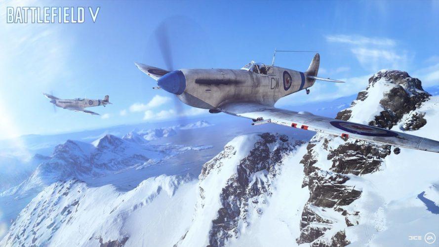 battlefield v avion