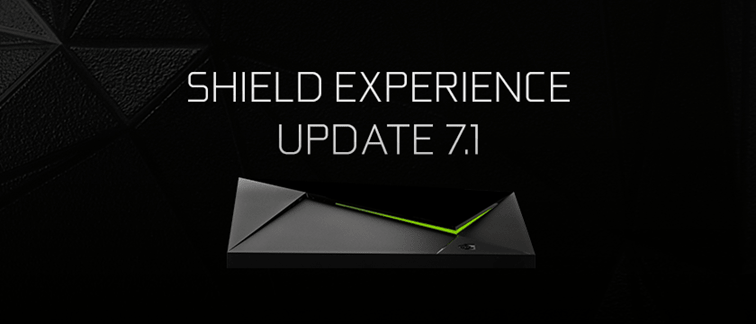 Nvidia Shield TV màj