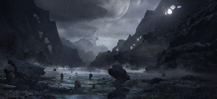 Science Fiction Art of Juan Pablo Roldán