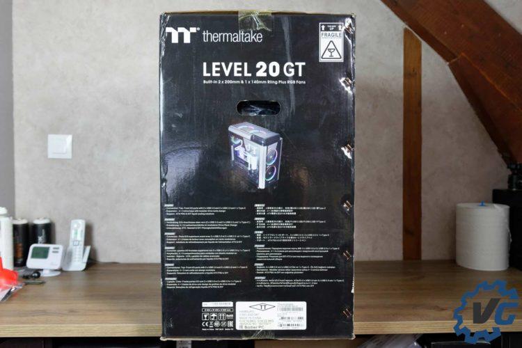 Test boîtier Thermaltake Level 20 GT
