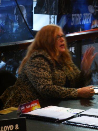 Comic con Gail Simone