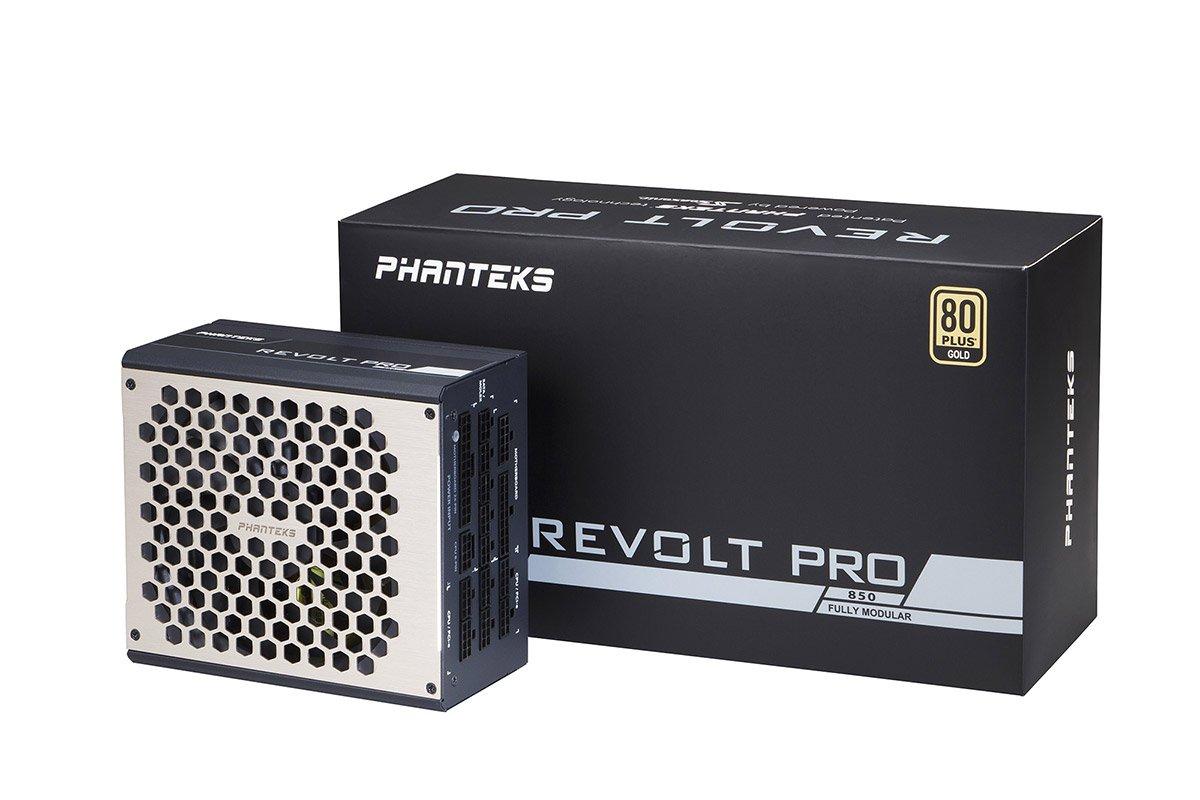 Le packaging de l'alimentation Phanteks Revolt Pro.