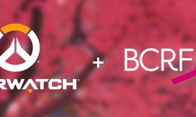 BCRF Overwatch dons cancer du sein