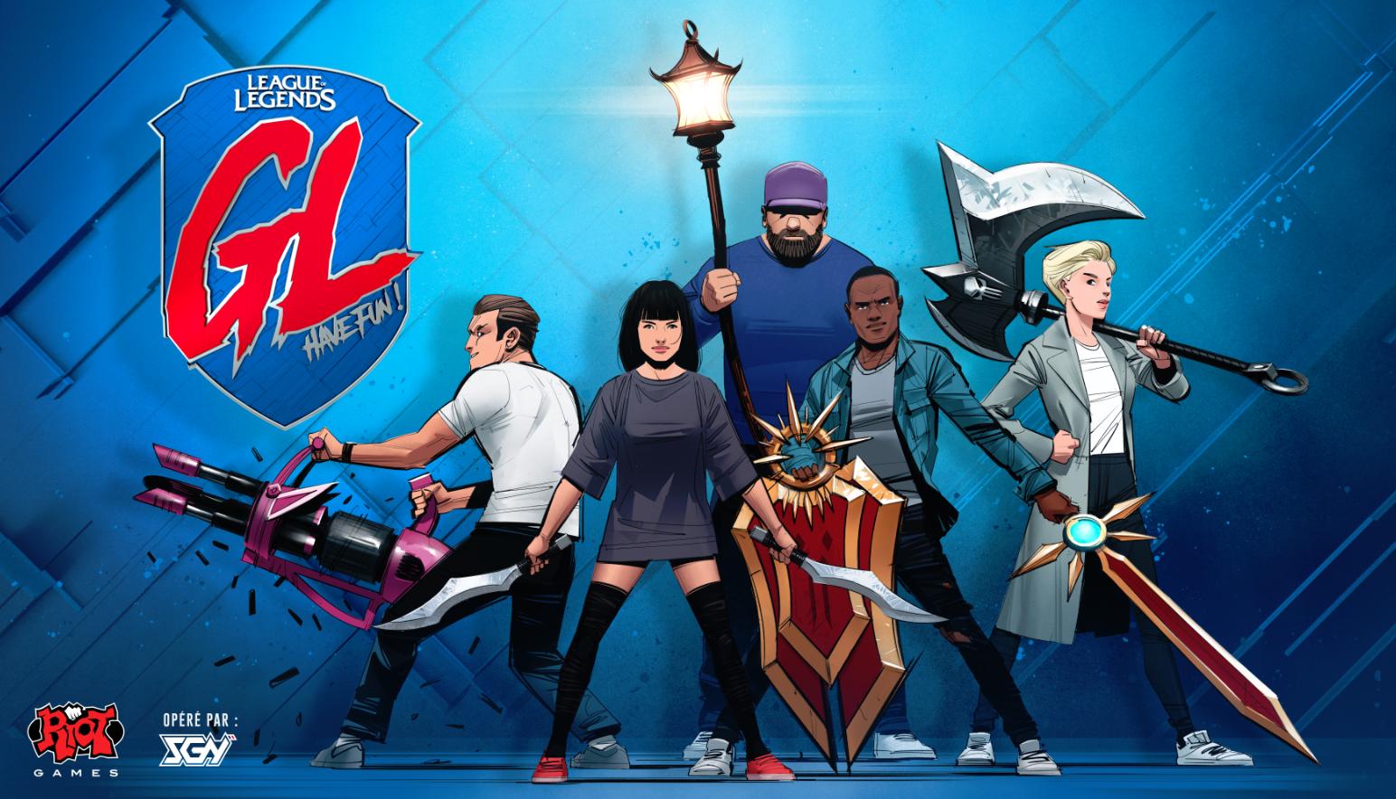 Grosse Ligue League of Legends