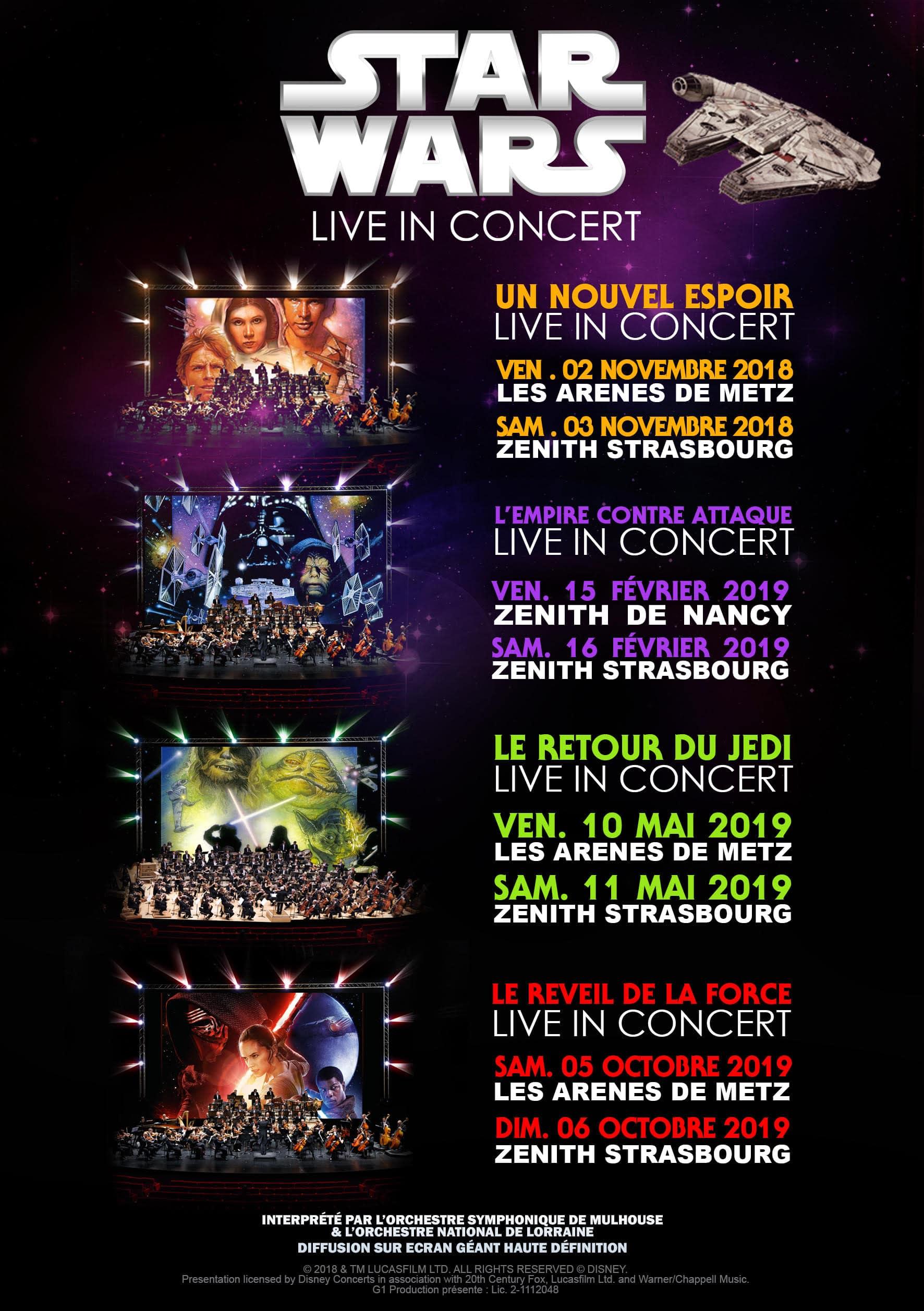Star Wars concerts
