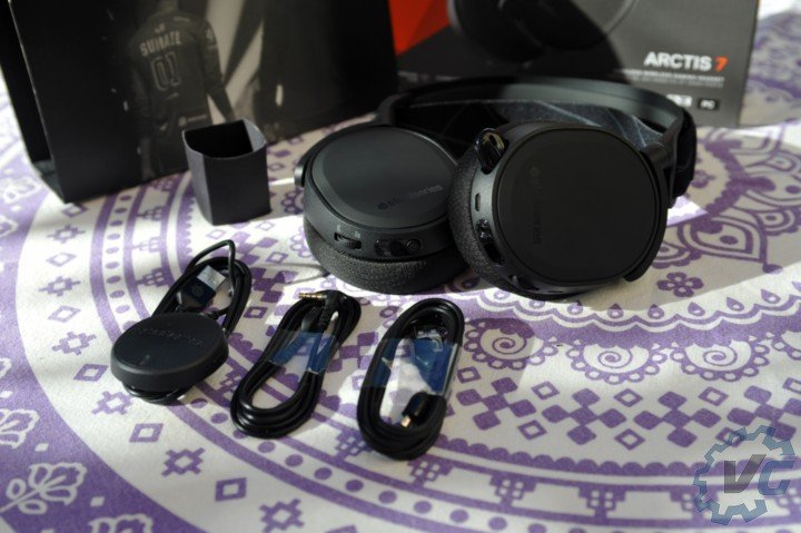 Steelseries Arctis 7 unbox