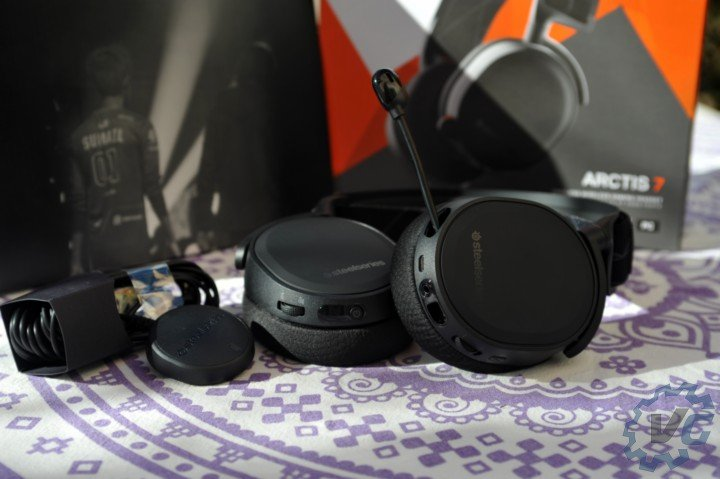 Steelseries Arctis 7 use