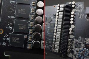 Le PCB de l'Asus R9 290X MATRIX.