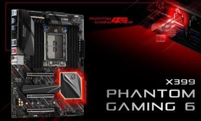 Carte mère ASRock X399 Phantom Gaming 6