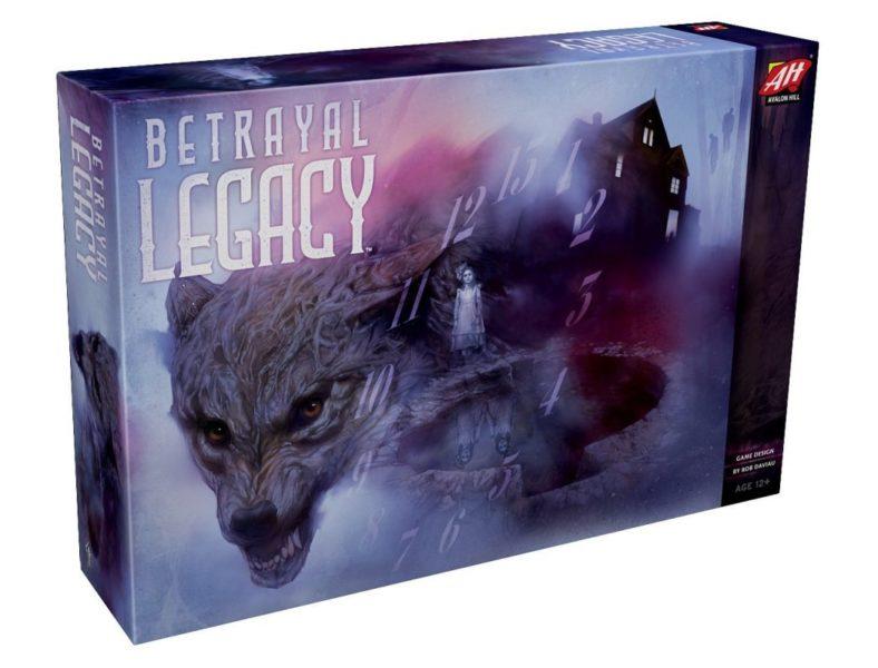 Betrayal Legacy boîte