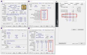 Les tests de la mémoire sur la X299 FTW K de EVGA.