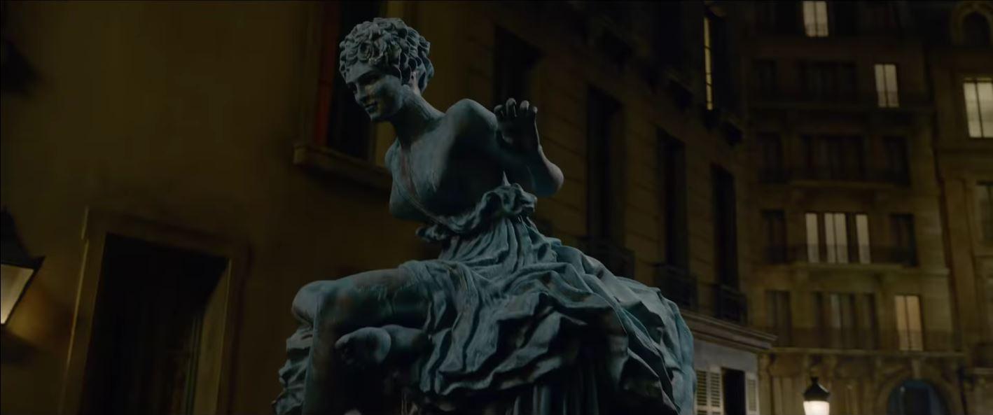 animaux fantastiques statue