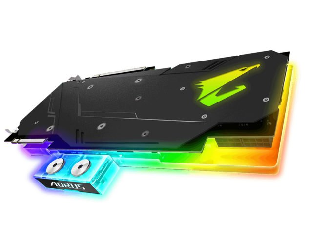La Gigabyte RTX AORUS WATERFORCE WB XTREME.