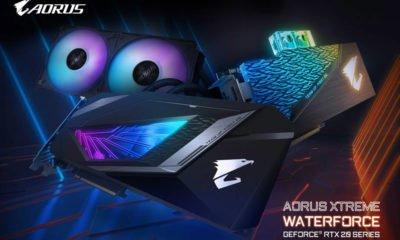 La Gigabyte RTX AORUS WATERFORCE WB XTREME.