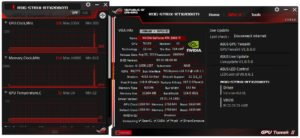 Le soft GPU Yweak II d'Asus.