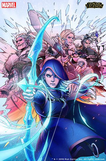 League of Legends Marvel Ashe