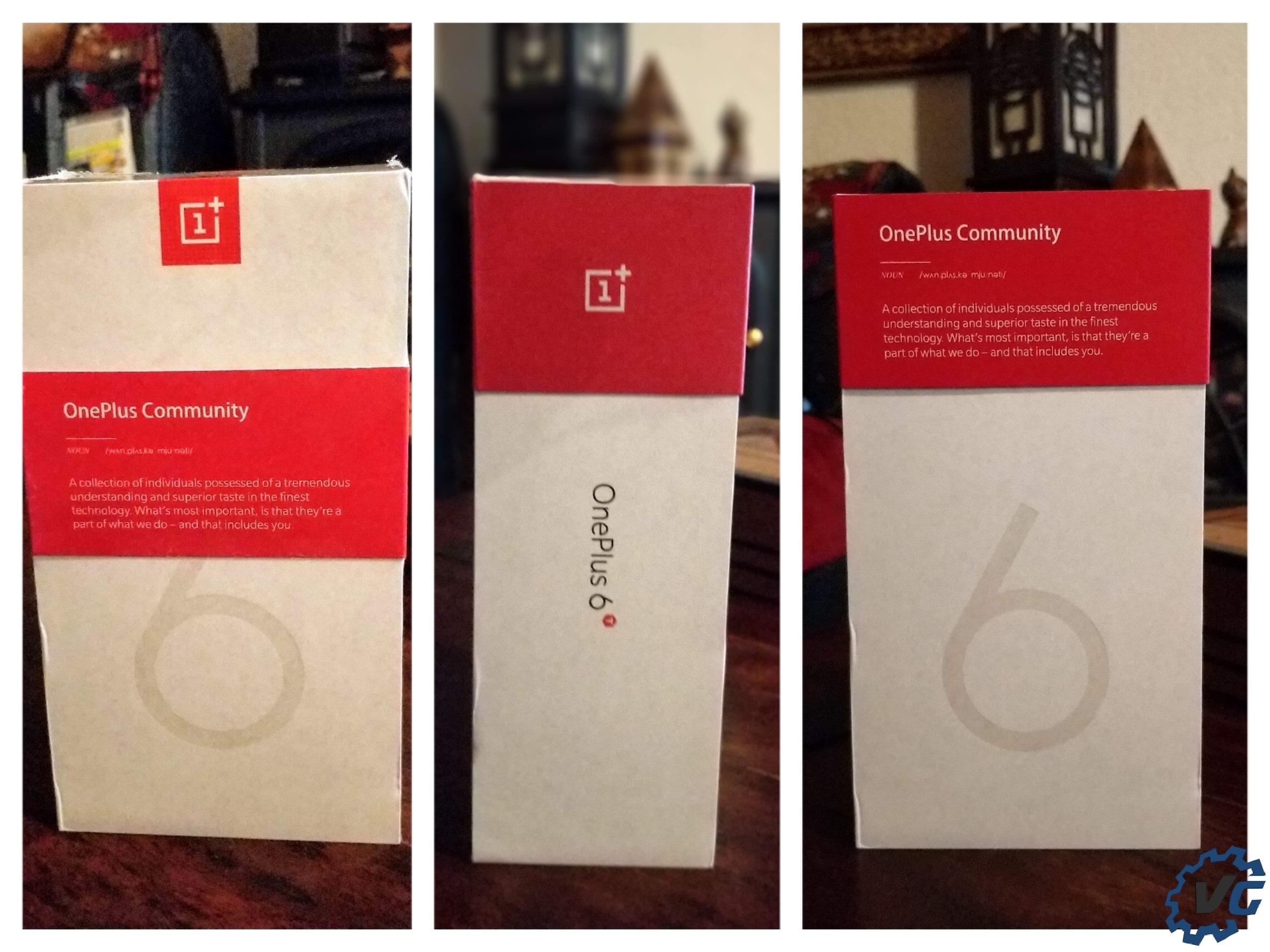 OnePlus 6T boîte