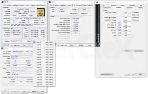 L'overclocking du 7980XE à 4,5 GHz sur la EVGA X299 FTW K.