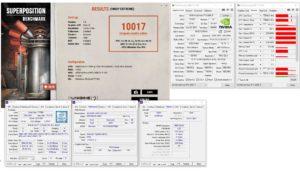 Les résultats en overclocking de la RTX 2080Ti STRIX OC.