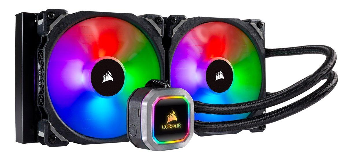 Le Corsair 280 RGB Platinum.