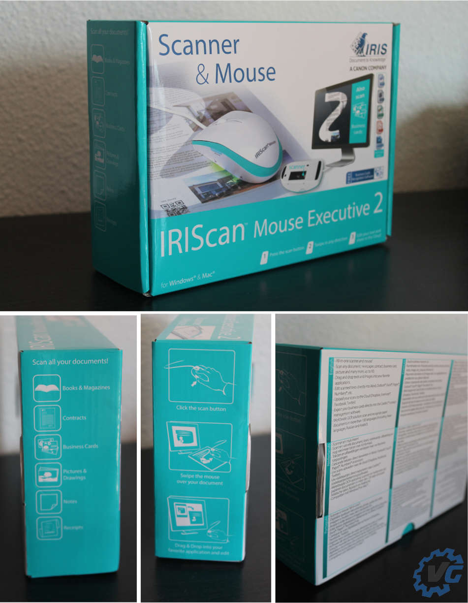 souris iriscan unboxing