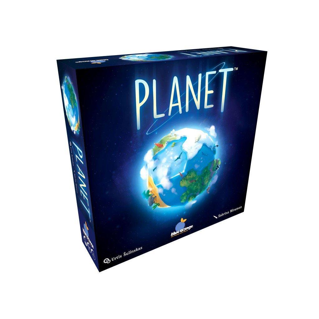 Planet Blue Orange