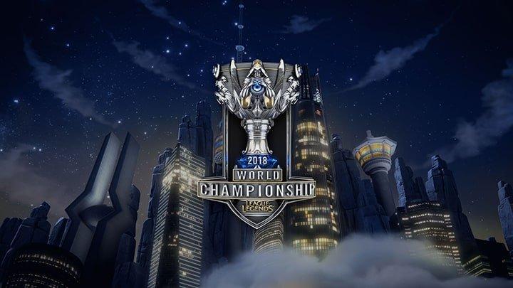 Mondiale 2018 league of Legends