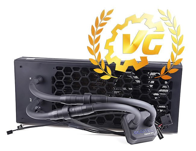 Gold award pour l'Alphacool Eisbaer Extreme 280