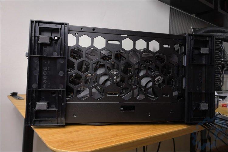 Les composants de cette configuration microATX.