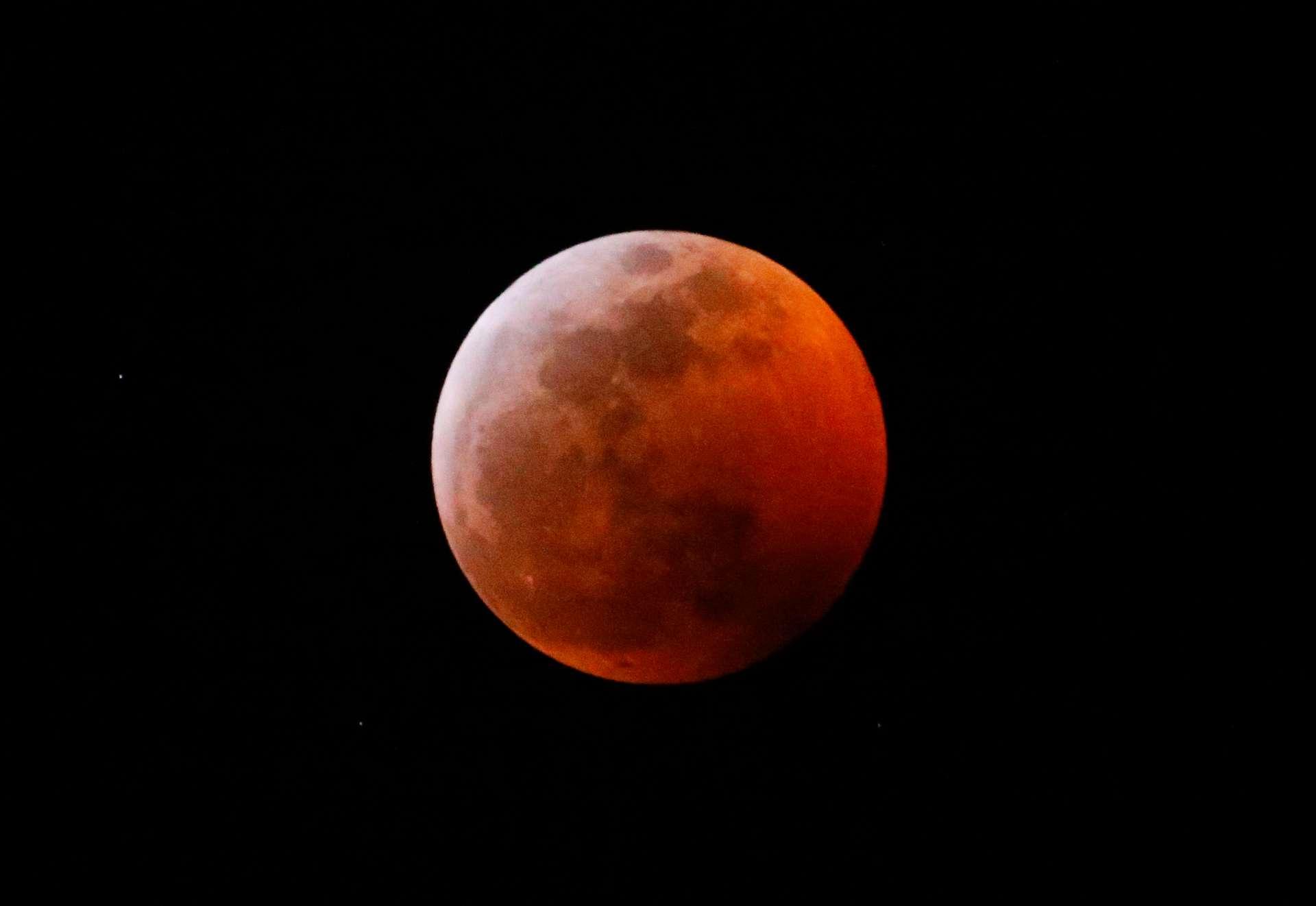 Éclipse lune janvier 2019