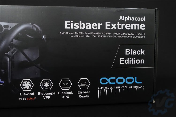 Le système de refroidissement liquide Alphacool Eisbaer Extreme