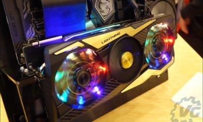 La MSI RTX 2080 Ti Lightning Z