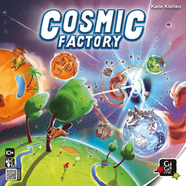 Cosmic Factory boite