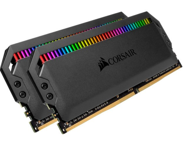 Les Corsair DDR4 DOMINATOR PLATINUM RGB