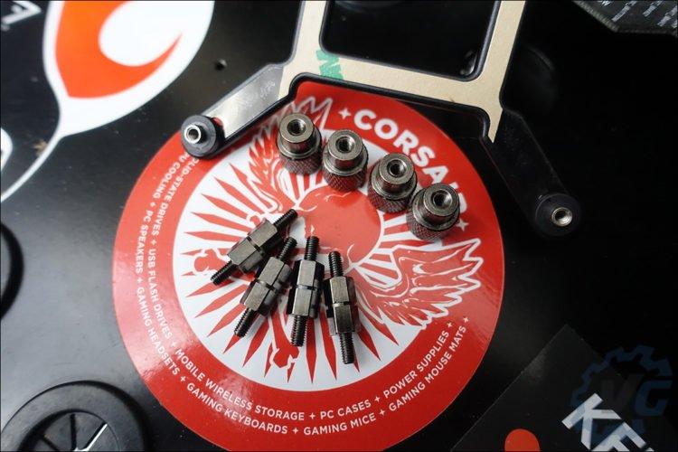 Installation du Corsair H100i RGB Platinum SE