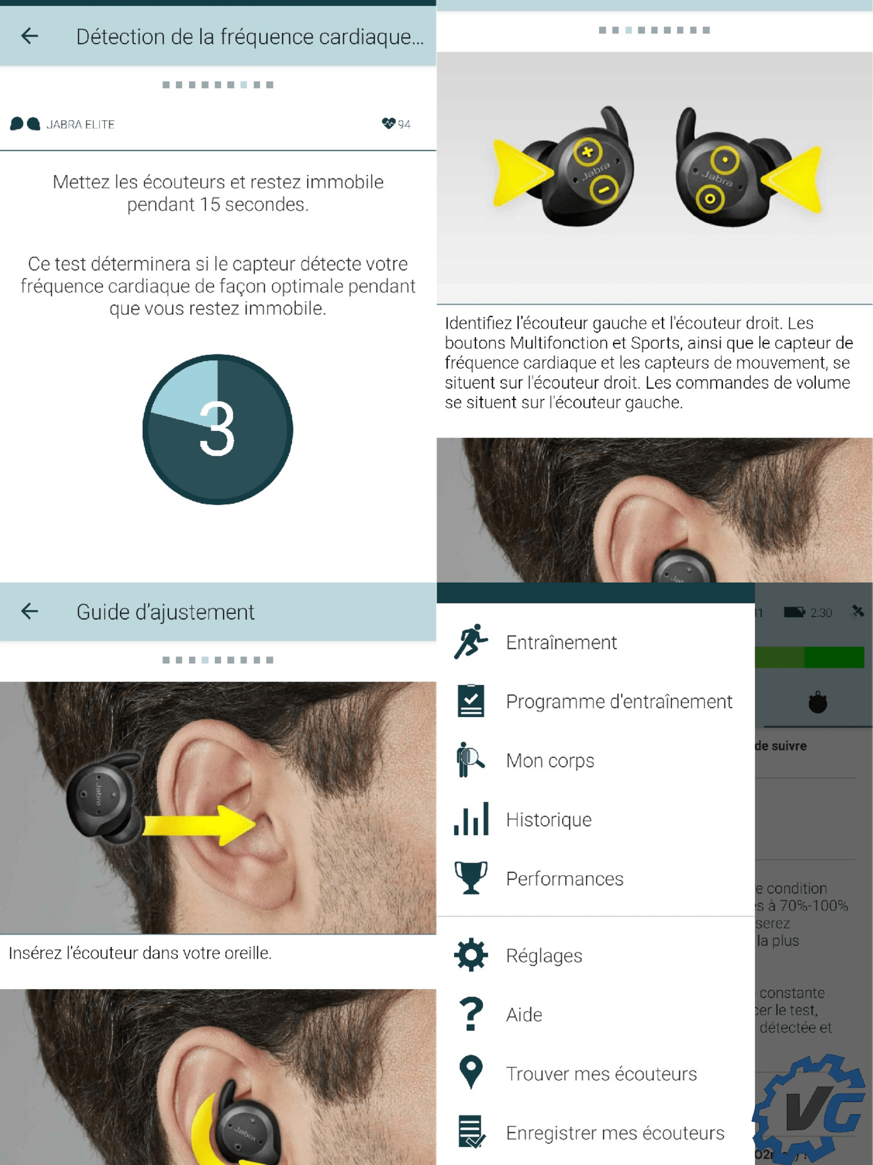 Jabra Elite Sport écouteurs True Wireless