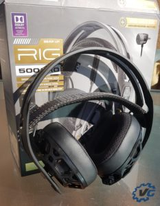 casque RIG 500 Pro HC test Plantronics