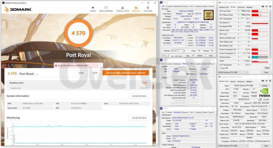 La EVGA RTX 2060 XC Gaming flashée à 2300 MHz