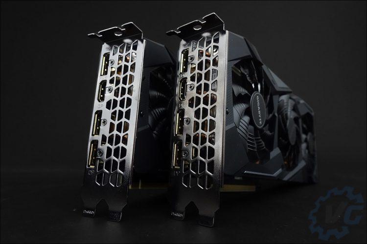 Les Gigabyte GTX 1660 et 1660 Ti Gaming OC