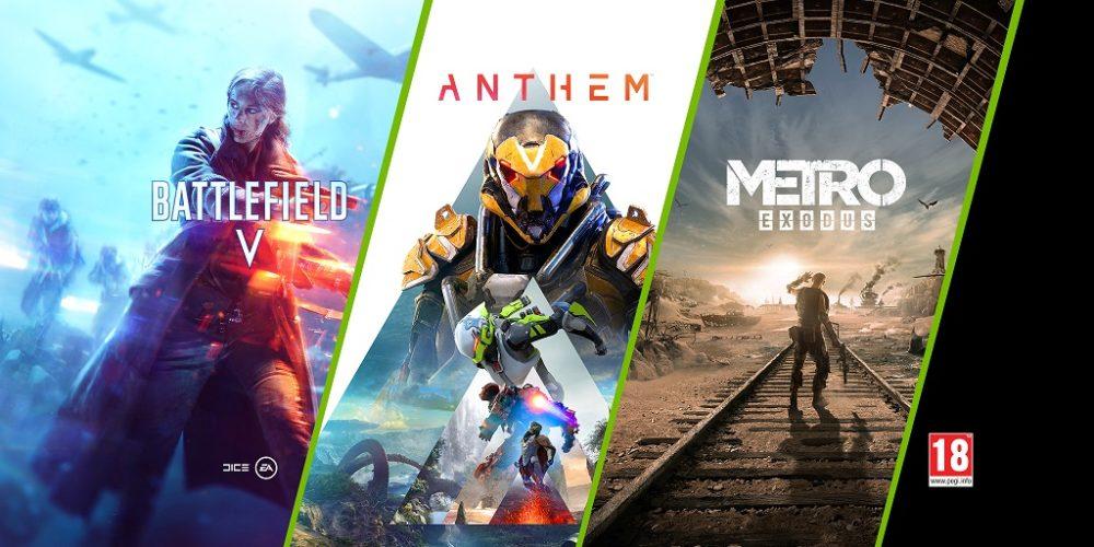 Nouveau triple bundle annoncé par NVIDIA