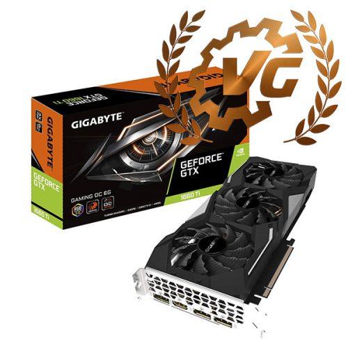 Award de bronze pour la Gigabyte GTX 1660 Ti Gaming OC