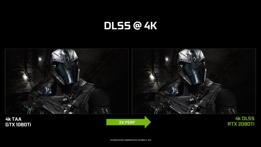 Tensor Cores DLSS RTX