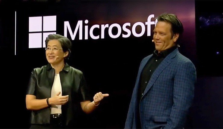 Lisa Su et Phil Spencer CES 2019