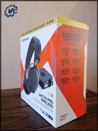 Arctis Pro Wireless - boîte de côté